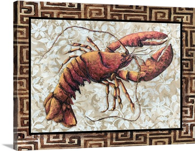 Lobster with Greek Border I