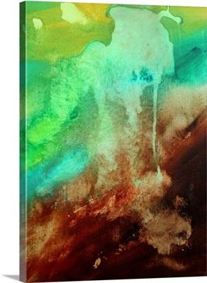 Lost Nebula III - Huge Modern Abstract Painting