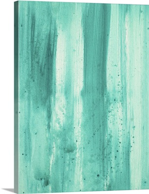 Modern Dance Aqua Passion - Abstract Decorative Painting