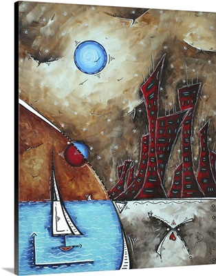 Morning Retreat - Coastal  Art Painting