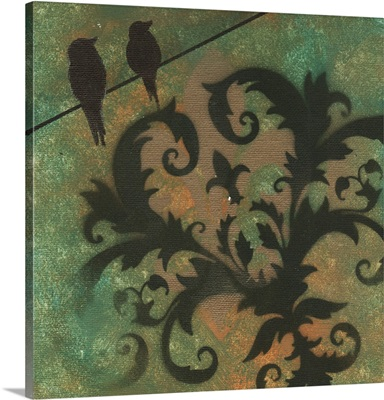 Natures Whimsy 4 - Decorative Bird Foliage