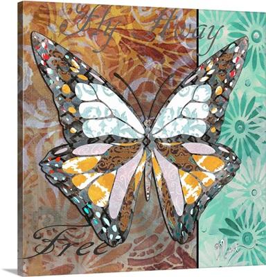 Patterned Butterfly I