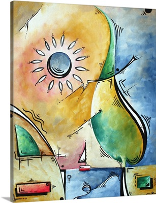 Sailors Sunset - Contemporary Abstract Painting