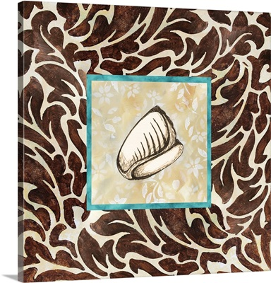 Sepia Seashell