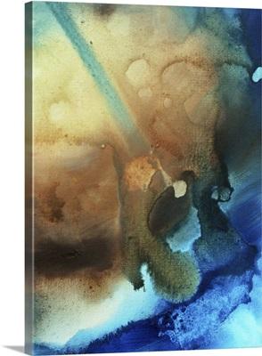 Sky Drama III - Huge Colorful Abstract Painting