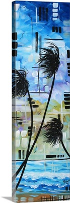 Stormy Tropics - Abstract Tropical Landscape