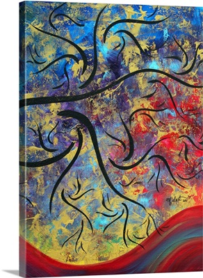 The Brilliance Of Color III - Contemporary Abstract Landscape Painting