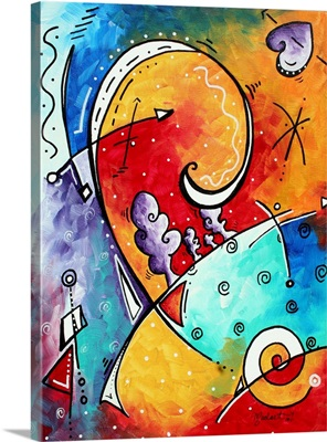 Tickle My Fancy - Abstract Contemporary Art