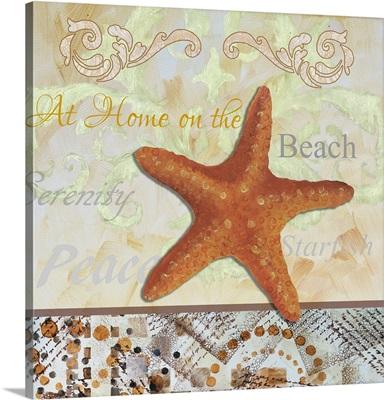 Tribal Orange Starfish