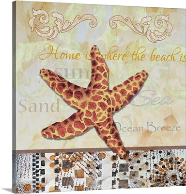 Tribal Spotted Starfish