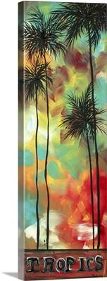 Tropics - Decorative Contemporary Painting