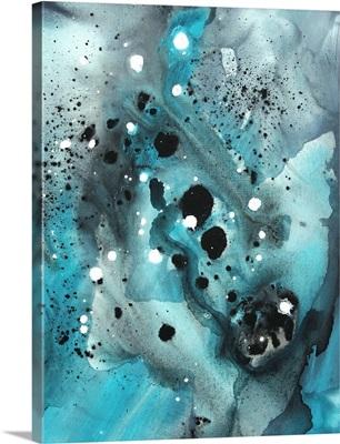 Turquoise Ecstasy III - Trendy Turquoise Modern Art