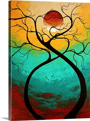 Twisting Love - Abstract Contemporary Art