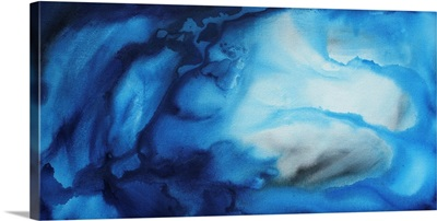 Underwater Blues  - Abstract Contemporary Art