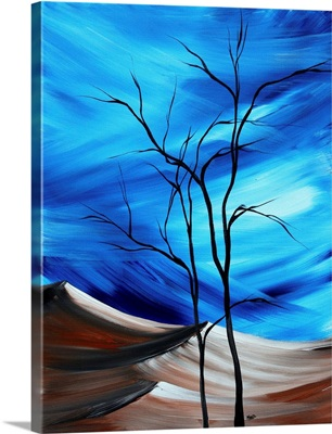 Waste Land I - Contemporary Abstract Painting