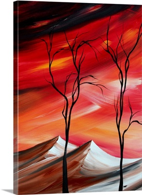 Waste Land II - Contemporary Abstract Painting