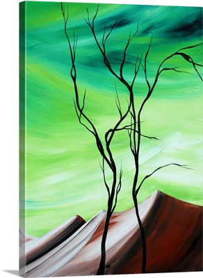 Waste Land III - Contemporary Abstract Painting