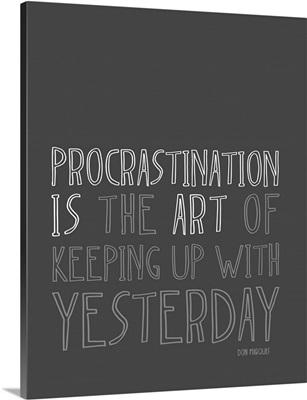 Artistic Procrastination - Dark