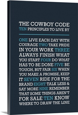 Cowboy Code - Blues
