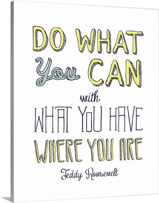 Do What You Can - Multi B