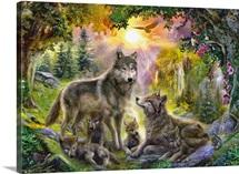 Autumn Wolf Family