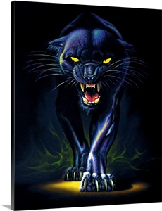 Black Panther Wall Art Canvas Prints Framed Prints Wall