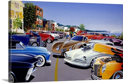 Car Show by the Lake