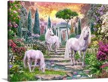 Classical Garden Unicorns