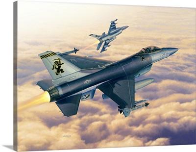F16C Sunset Falcons