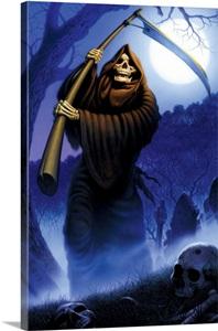 Grim Reaper Wall Art Canvas Prints Framed Prints Wall
