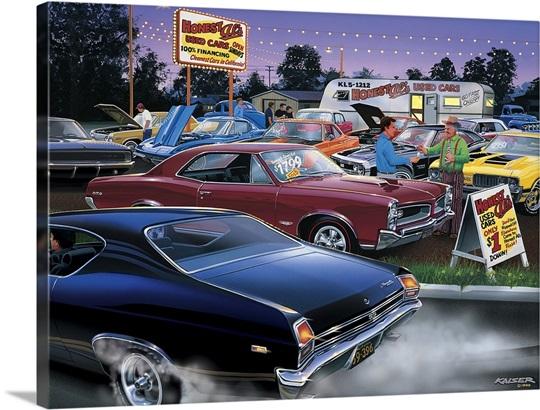 Honest Al\'s Used Cars Wall Art, Canvas Prints, Framed Prints, Wall ...