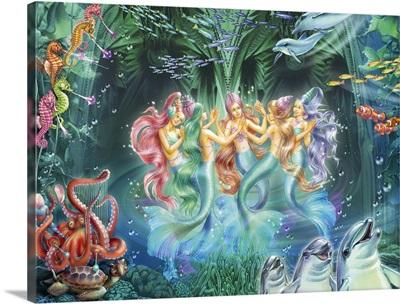 Mermaids Dancing