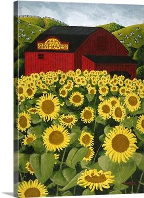 Millie's Sunflowers