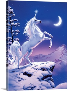Moonlight Unicorn Wall Art Canvas Prints Framed Prints Wall Peels Great Big Canvas