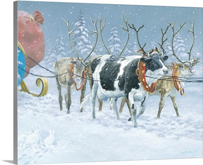 On Dasher, on Prancer, on what