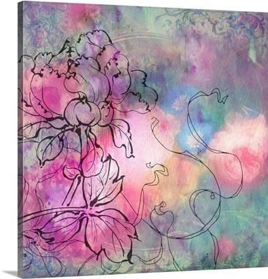 Sketchflowers - Dahlia
