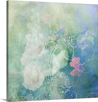 Sketchflowers - Hollyhock
