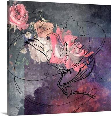 Sketchflowers - Peony