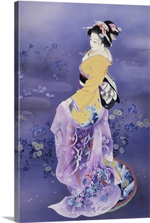 Skiyu purple robe