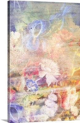 Smokey Floral Verdance