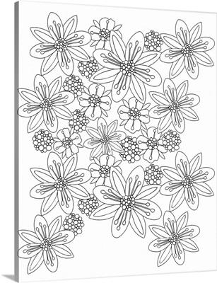 Space Flower Pattern