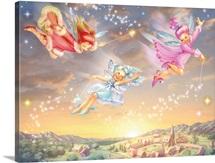 Sunset Fairies