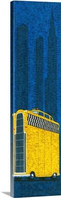 Tall American taxi