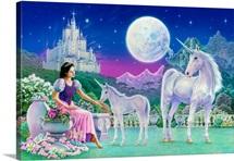 Unicorn Princess - Feeding Foal