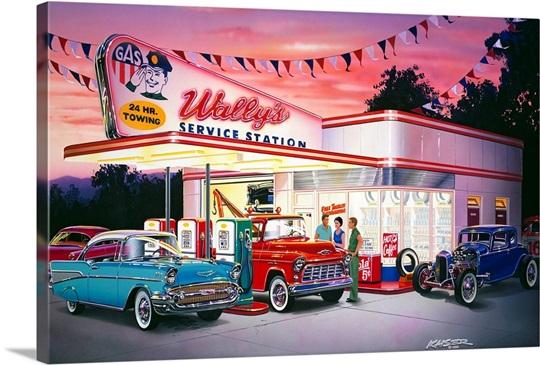 Wally's Service Station