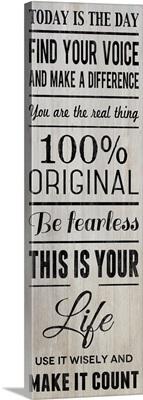 100 Percent Original, grey