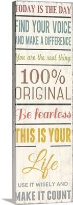 100 Percent Original, white