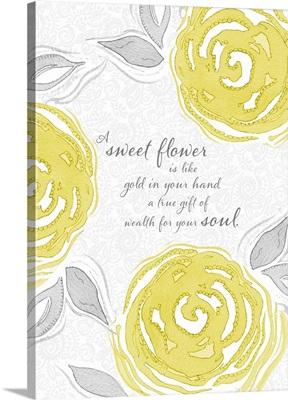 A Sweet Flower
