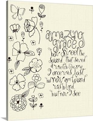 Amazing Grace coloring