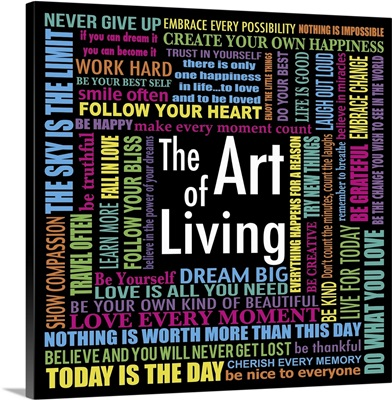 Art of Living, color